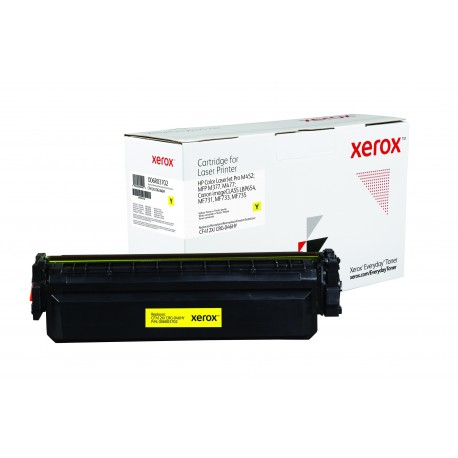 Toner Xerox Everyday remplace HP CF412XCRG-046HY Yellow