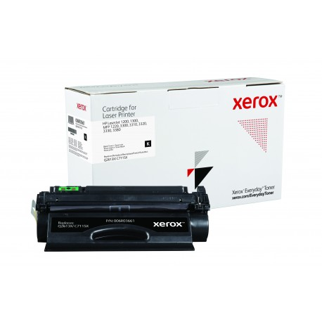 Toner Xerox Everyday remplace HP Q2613XC7115X Noir