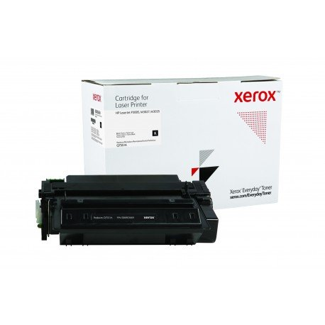 Toner Xerox Everyday remplace HP Q7551A Noir