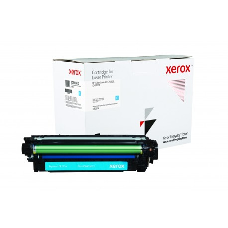 Toner Xerox Everyday remplace HP CE251A Cyan
