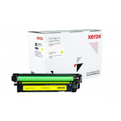 Toner Xerox Everyday remplace HP CE252A Yellow