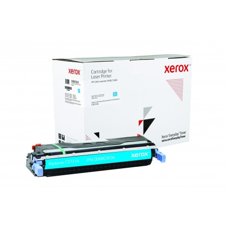 Toner Xerox Everyday remplace HP C9732A Cyan