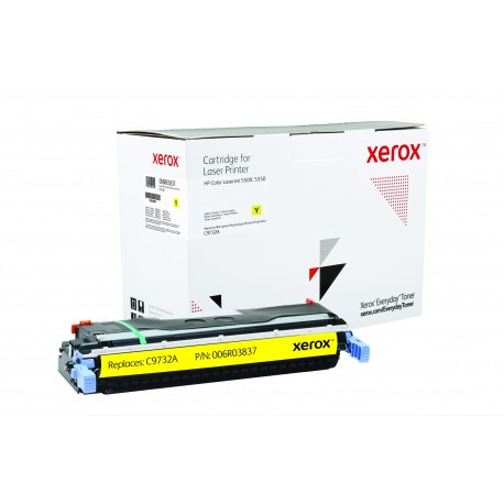 Toner Xerox Everyday remplace HP C9733A Yellow