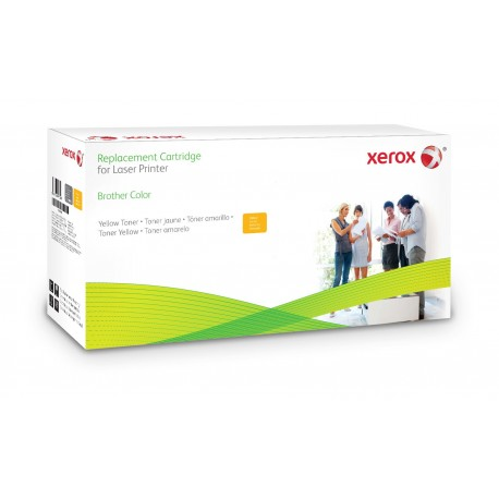 Toner Xerox remplace Brother TN325Y Yellow