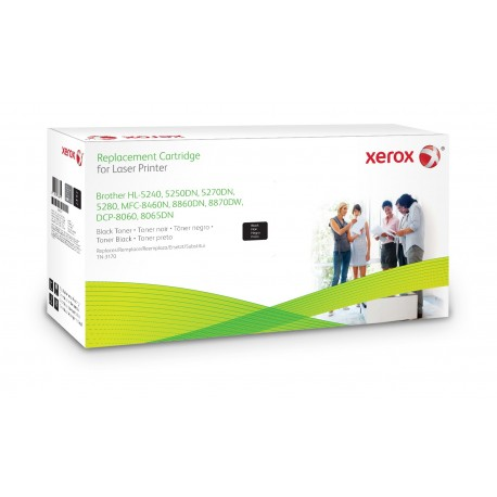 Toner Xerox remplace Brother TN3170 Noir