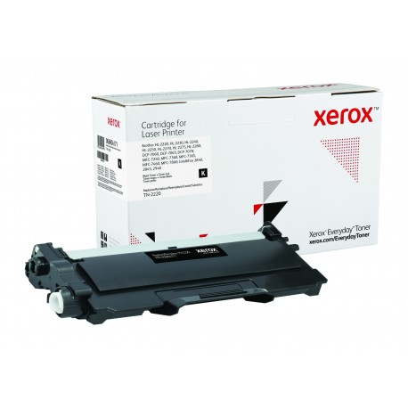 Toner Xerox Everyday remplace Brother TN-2220 Noir