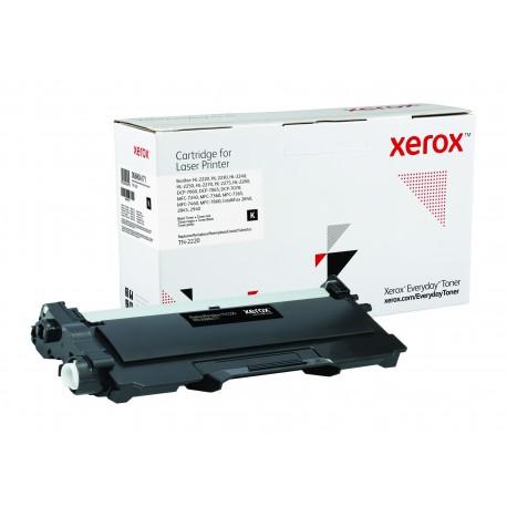 Toner Xerox équivalent Brother TN-2220 Noir
