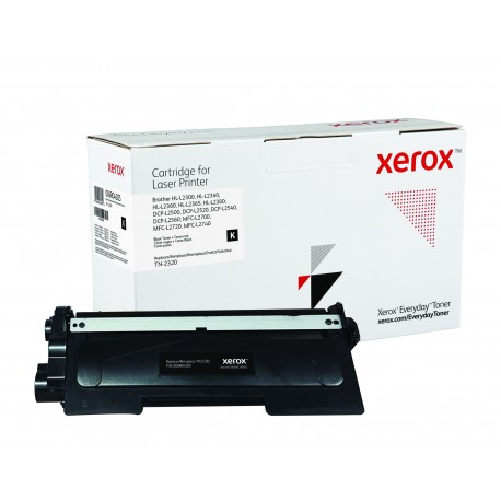 Toner Xerox Everyday remplace Brother TN-2320 Noir