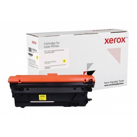 Toner Xerox Everyday remplace HP CF032A Yellow