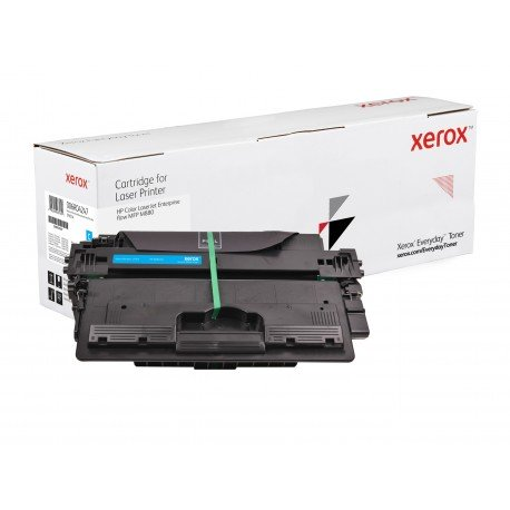 Toner Xerox Everyday remplace HP CF301A Cyan