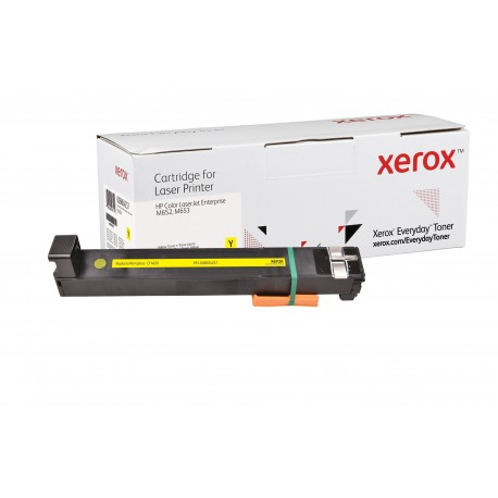 Toner Xerox Everyday remplace HP CF462X Yellow