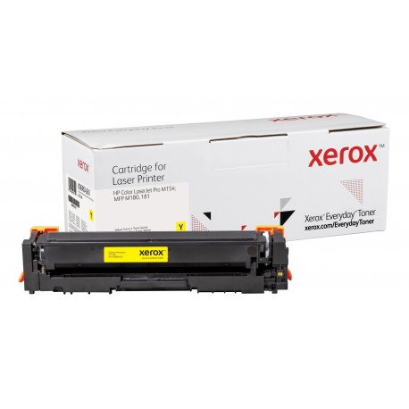 Toner Xerox Everyday remplace HP CF532A Yellow