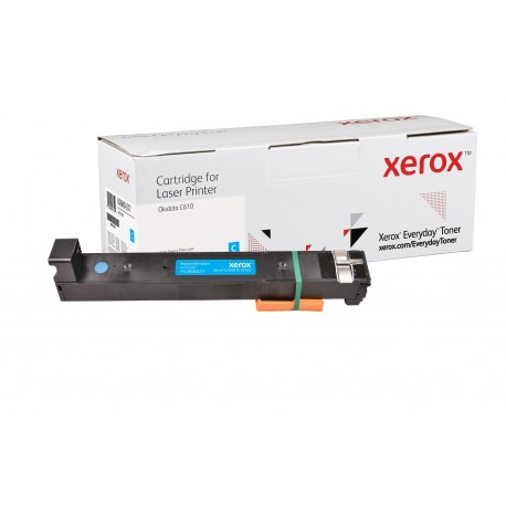 Toner Xerox Everyday remplace OKI 44315307 Cyan