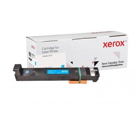 Toner Xerox Everyday remplace OKI 44315307 Cyan