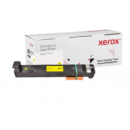 Toner Xerox Everyday remplace OKI 44318605 Yellow