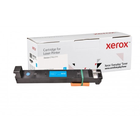 Toner Xerox Everyday remplace OKI 44318607 Cyan