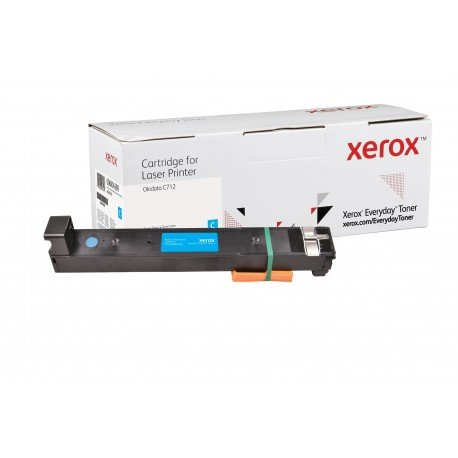 Toner Xerox Everyday remplace OKI 46507615 Cyan