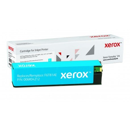 Toner Xerox Everyday équivalent HP F6T81AE Cyan